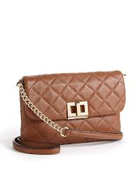 Calvin klein Quilted Leather Crossbody Bag in Natural | Lyst & Gallery. Previously sold at: Lord & Taylor · Women's Calvin Klein Crossbody Adamdwight.com