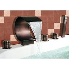 oil rubbed bronze widespread bathroom faucet sink faucets