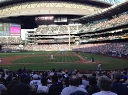 T Mobile Seating Chart Seattle T Mobile Park Section 136 Row 22 Seat 4 Seattle Mariners