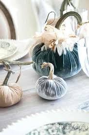 velvet pumpkin pumpkins diy