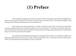 e portfolio in creative writing ppt video online  3 1
