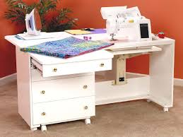 Sewing Machine Cabinets - Perfexion PXD2200W Deluxe Quilting ... & Sewing Machine Cabinets - Perfexion PXD2200W Deluxe Quilting Cabinet in  White, (http:/ Adamdwight.com