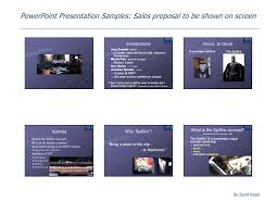 Presentation Powerpoint Examples Power Point Presentation Samples Sales Proposal
