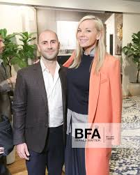 David Johnson, Lena Jensen at ARCHITECTURAL DIGEST Celebrates DIANE VON  FURSTENBERG'S Collection with THE RUG COMPANY /
