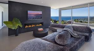 Living Room Modern Living Room Ideas With Fireplace And Tv Front