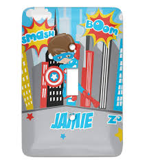 Superhero Light Switch Cover Superhero In The City Light Switch Cover Single Toggle