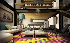 Interior Design Of Small Living Rooms Awesomely Stylish Urban Living Rooms