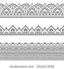 Henna Pattern Gorgeous Henna Images Stock Photos Vectors Shutterstock