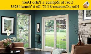 top cost to replace a sliding patio door cost installing patio of keyword