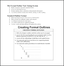 College Textbook Chapter Outline Template Sample Tailoredswift Co
