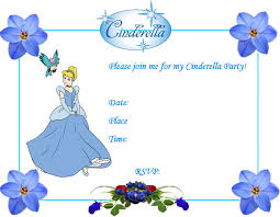 invite cinderella blue princess printables cinderella party ideas creative printables