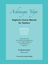 ashtanga yoga beginners course manual for teachers cover