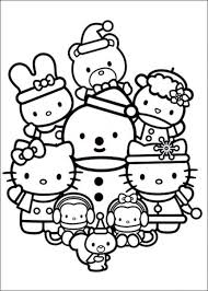 Small Picture Hello Kitty Coloring Pages and Book UniqueColoringPages