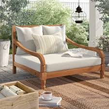 double chaise lounge patio chaise