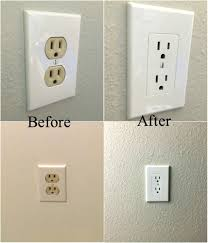surprising idea wall plates home depot easy electrical cover tip to fix mismatched decorating brushed nickel decorative