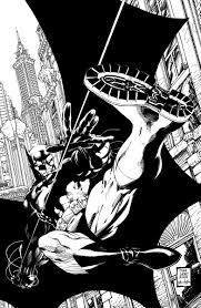 Batman Noir Hush Hc Written By Jeph Loeb Art By Jim Lee And Scott