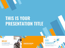 Blue And Orange Powerpoint Template 30 Free Google Slides Templates For Your Next Presentation