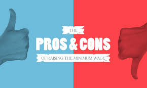 list of minimum wage jobs the pros and cons of raising the minimum wage when i work