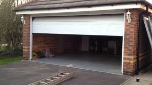 action garage doorHormann sectional door in action fully fitted in derby  YouTube