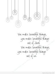 Make Beautiful Quotes Best of Beautiful Things Quotes