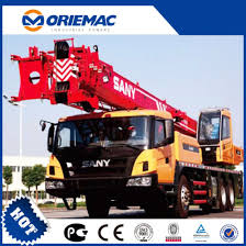 Sany 75 Ton Crane Load Chart Sany Lifting Construction Machinery 75 Ton Mobile Truck Crane Stc750a