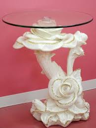 a glass table side table center table bowl holder fashion fashion ornament go japanese agricultural standards