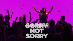 Image result for sorry not sorry gif