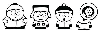South Park Coloring Pages Park Coloring Pages South Park Coloring
