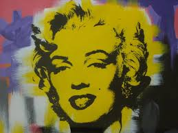 andy warhol painting marilyn monroe