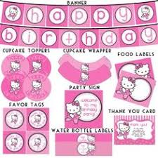 hello kitty birthday party printables hello kitty birthday party printables free best person ever