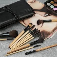 mac 24 pcs cosmetic makeup brush set