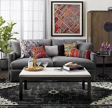 view in gallery black and white persian style rug from crate barrel