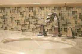 how to install glass tile in bathroom mosaic metal stone kitchen wall