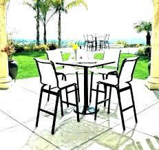 patio furniture counter height table sets bar outdoor bistro set chair b