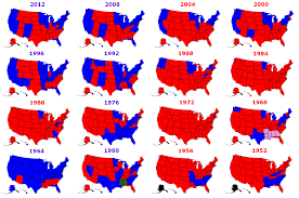 2016 Presidential Election Results Chart Presidential Elections Used To Be More Colorful Metrocosm
