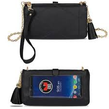 allure touch screen purse with full