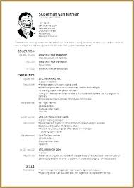 Resume Templates For Word Free Download Primer Image Of Free