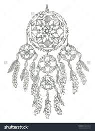 Small Picture Dream catcher coloring page Mandalas y Atrapasueos 08
