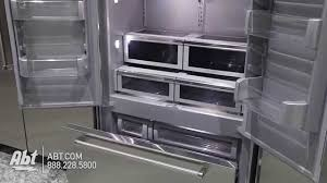 Interesting Kitchenaid Superba 42 Refrigerator Builtin Stainless Steel French Door Throughout Design Decorating