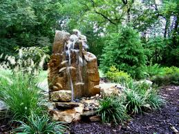 image gallery natural rock fountains outdoor looking water