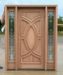 exterior wood door and wrought iron glass olympus series