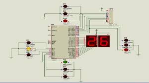 Assembly Language Program For Traffic Light Control Using 8051 Simple Traffic Light Controller Using 8051 Assembly Language Full Code Circuit By Mextech
