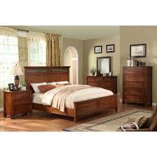 Mission Style Bedroom Furniture Riverside Furniture Craftsman Home Panel Bedroom Set Craftsman