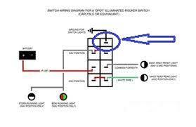 how to wire a on off on lighted rocker switch page 1 iboats click image for larger version nav switch jpg views 1 size