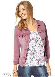 australia women coats jackets denim jacket by cheer washable 255510 8 darkrose
