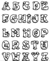 Alphabet Coloring Snowman Alphabet Coloring Pages