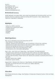 Hostess Job Description For Resume Blaisewashere Com
