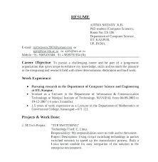 Format My Resume Amazing Resume Format For Assistant Professor Computer Science Resume