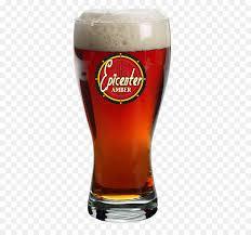 lager pint glass santan brewing company san marcos glass