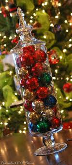 Apothecary Jars Christmas Decorations Easy LastMinute Christmas Decorations Amanda Jane Brown 71
